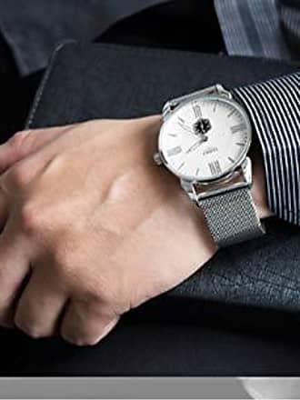 Yazole Relógio de Pulso Social Yazole D432 Aço Inoxidável À Prova dÁgua (2)