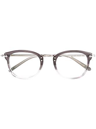 Oliver Peoples Armação de óculos redonda - Cinza