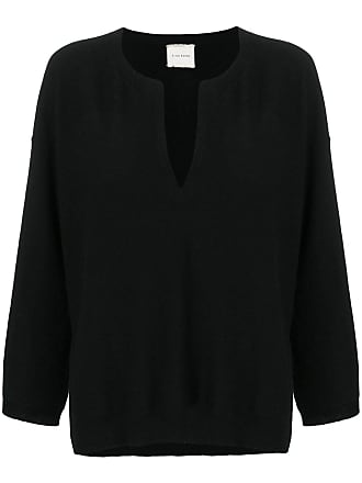 Fine Edge v-neck sweater - Preto