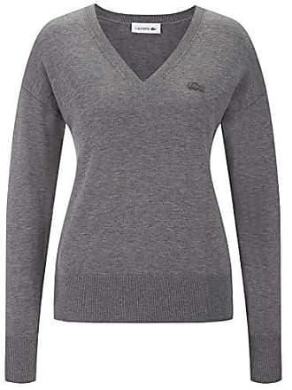 Lacoste AF1782 Damen Pullover V-Ausschnitt,Frauen Basic  Strickpullover,Freizeit und Business Pulli cdb29a5e05