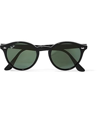 Ray-Ban Round-frame Acetate Sunglasses - Black