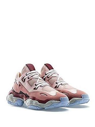 huge discount 670e8 1e9af HUGO BOSS Sneakers aus Leder mit Schnürung und Mesh-Details