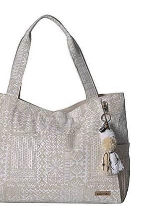 19e4a7ba8 Sakroots Artist Circle Patomac Tote (White Tribal Beauti) Tote Handbags