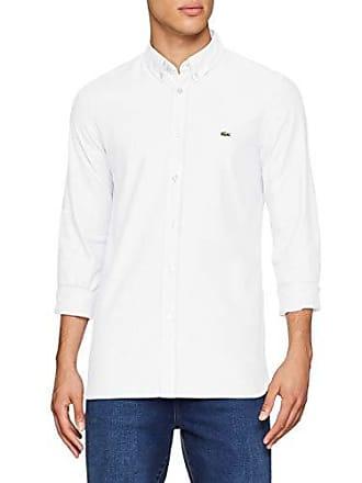 660d773067 Lacoste CH0763 Chemise habillée, Blanc 001, M (M (Taille Fabricant: 40