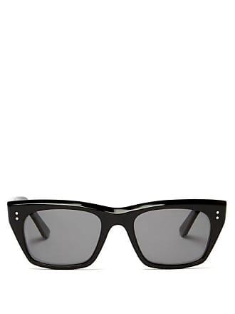 4e2440416e Celine D Frame Angular Acetate Sunglasses - Womens - Black
