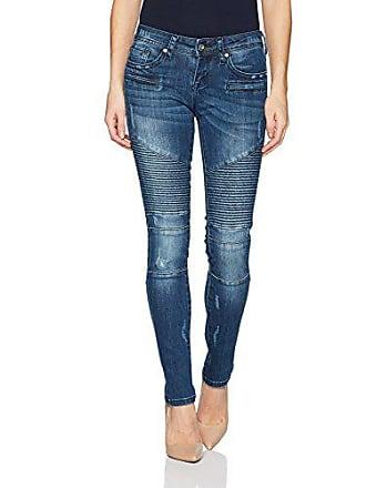 Grace in L.A. Womens Contemporary Skinny Jean, Moto, 24