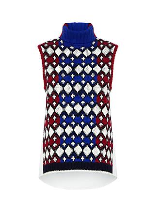 Sea New York Color Block Turtleneck Knit Top Multi