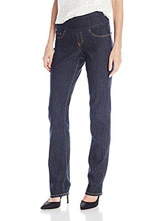Jag Jeans Womens Peri Straight Pull on Jean, Late Night, 0
