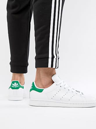 release date 46483 bde85 adidas Originals Stan Smith M20324 - Scarpe da ginnastica di pelle bianche  - Bianco