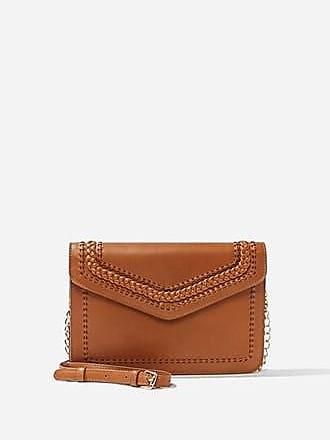 Forever 21 Forever 21 Faux Leather Crossbody Bag Tan