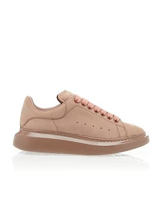 Alexander McQueen Low-Top Suede Sneakers