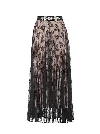 Christopher Kane Embellished pleated maxi skirt