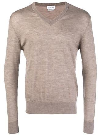 Ballantyne Suéter de tricô canelado - Neutro