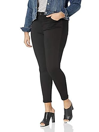 William Rast Womens Plus Size Perfect Skinny Jean, Forest Black, 18W