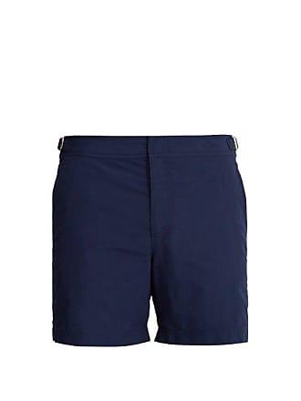 25c3f69ad1 Orlebar Brown Bulldog Mid Length Swim Shorts - Mens - Navy