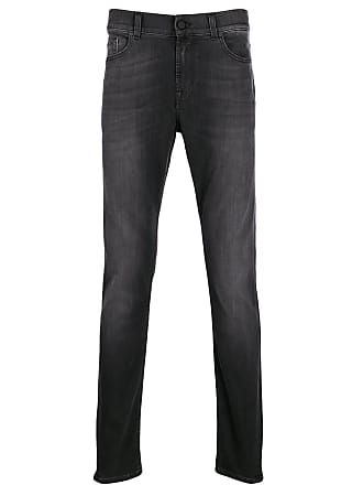 7 For All Mankind Calça cenoura Ronnie - Preto