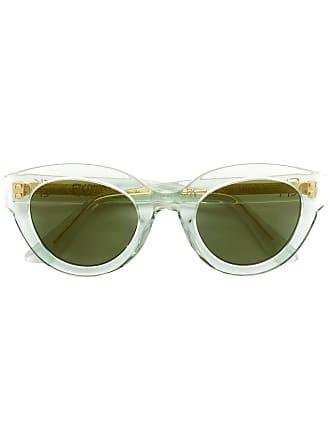 Emmanuelle Khanh round frame sunglasses - Verde