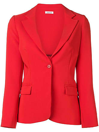 P.A.R.O.S.H. classic single breasted blazer - Red