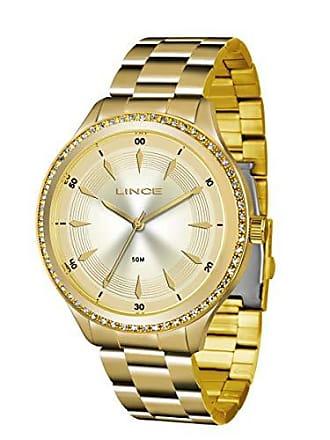 Lince Relógio Feminino Lince Casual Lrg4427l C1kx - Dourado