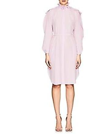 Nina Ricci Womens Silk Belted Shirtdress Lilac Size 38 Fr