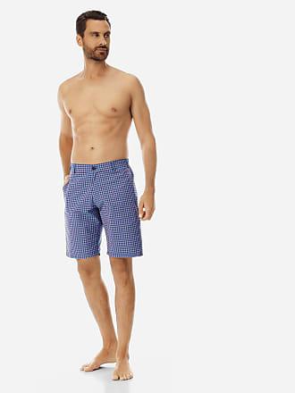 Vilebrequin Men Ready to Wear - Men Straight Bermuda Shorts Carreaux - BERMUDA - BARATIN - Blue - XXXL - Vilebrequin
