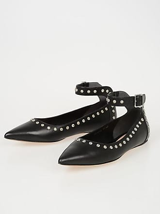 3ce5c7b1bd28 Delivery  free. Alexander McQueen Studded Leather Ballet Flats size 35