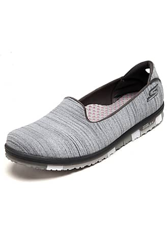 Skechers Tênis Skechers Go Flex Walk Mini Cinza