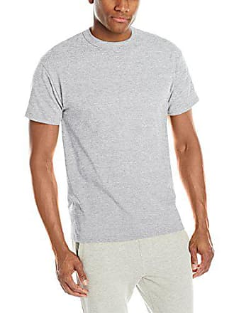 544002c5681 Russell Athletic Mens Short Sleeve Cotton T-Shirt, Ash, 3X-Large