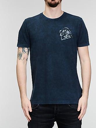 Rabaini Fay - T-shirt con logo - Blu