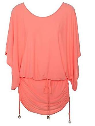 Luli Fama Womens Cosita Buena South Beach Cover-Up Dress, Miami Peach, Small