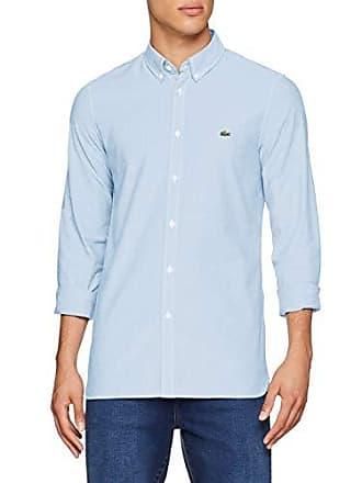 9d23729c8d4 Lacoste CH0763 Chemise habillée Homme Bleu (Calanque G5j) Medium (Taille  Fabricant 39