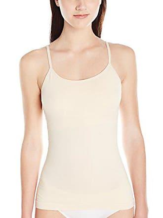 8e65af33536ee Yummie Tummie Womens Plus-Size Amelia Seamlessly Shaped Nylon Everyday Shelf  Camisole