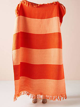 Anthropologie Woven Darby Throw Blanket