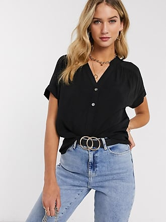 Warehouse Over The Head Top in black