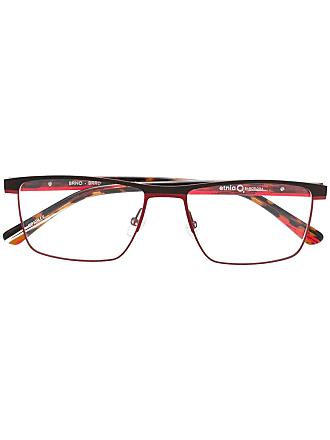 Etnia Barcelona rectangular frame glasses - Vermelho