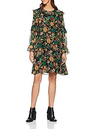 39c9a219c59 Scotch   Soda Maison Printed Drapey Ruffle Dress Robe Multicolore (Combo J  0589)