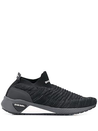 b9a4e2b3ae53 Diesel sock-style sneakers - Black