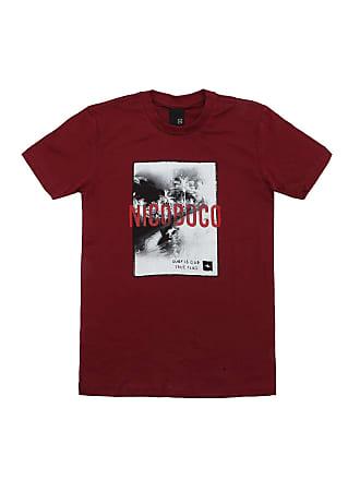 NICOBOCO Camiseta Nicoboco Menino Frontal Vinho