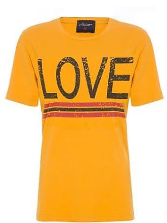 J. Chermann T-shirt Love Estonado J. Chermann - Amarelo