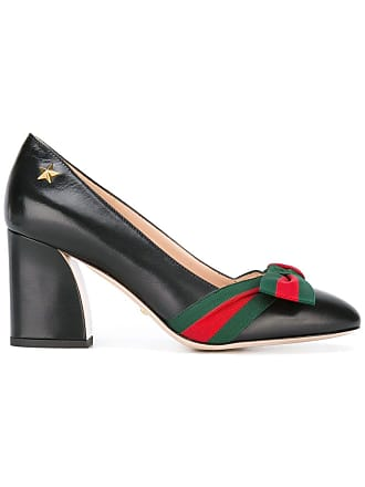 533dfe348 Gucci Web bow pumps - Black