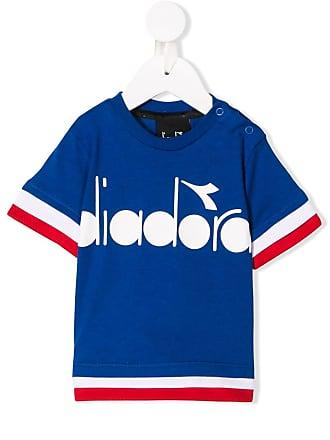 Diadora Blusa com logo - Azul