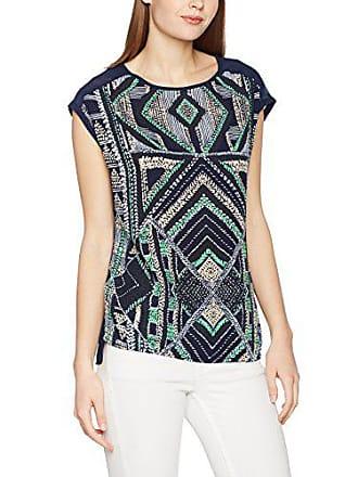 8956d010ef717 Vero Moda Vmane Mix Wide Midi Top DNM A T- T-Shirt Multicolore (