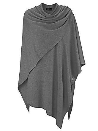 f5d39c4299137b Zwillingsherz Poncho-Schal mit Kaschmir - Hochwertiges Cape für Damen - XXL  Umhängetuch und Tunika