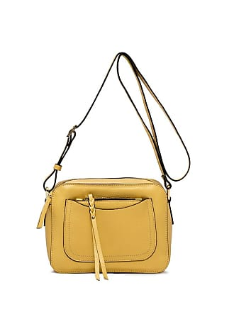 Gianni Chiarini ogiva large yellow cross body body bag