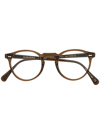 Oliver Peoples Gregory Peck sunglasses - Marrom