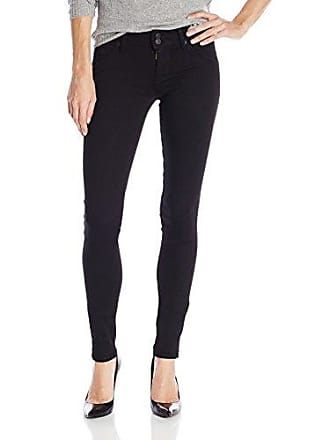 4b99ba86006 Hudson Jeans Womens Collin Skinny Flap Pocket Jean, Black, 30