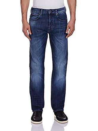 88650529f39 G-Star Mens Attacc Straight Fit Jean In Blue Delm Stretch Denim Dark Aged,