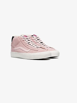 Vans pink Vault suede skater sneakers