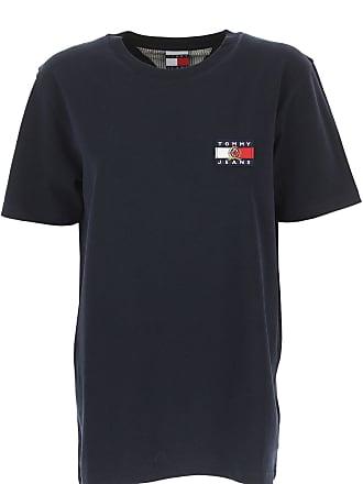 Tommy Hilfiger T-Shirts für Damen, TShirts, Dunkelblau, Baumwolle, 2017, 9e56abf9bb