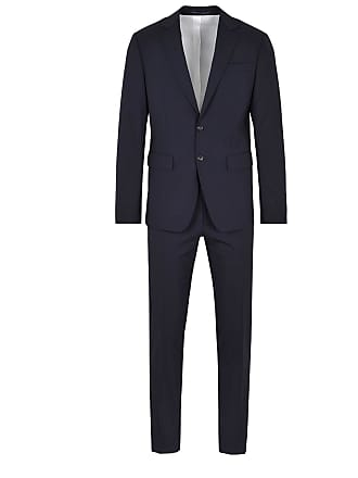 Dsquared2 Single-breasted navy blue suit